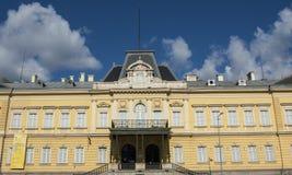 Nationale Kunstgalerie und Etnographic-Museum in ehemaligem König palac Lizenzfreies Stockfoto