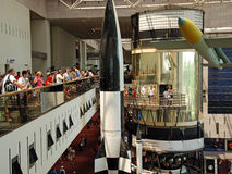 Nationale Lucht en Ruimtemuseum Royalty-vrije Stock Foto's