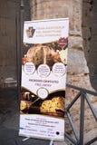 Nationale Messe von Panettone und von Pandoro Rom Italien Stockfotografie