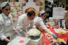 Nationale Messe von Panettone und von Pandoro Rom Italien Lizenzfreies Stockfoto