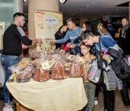 Nationale Messe von Panettone und von Pandoro Rom Italien Lizenzfreie Stockfotos