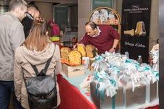 Nationale Messe von Panettone und von Pandoro Rom Italien Lizenzfreie Stockfotografie