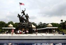 Nationale Monument of ?Tugu Negara ?in Kuala Lumpur, Maleisi? royalty-vrije stock foto