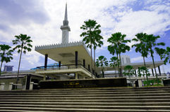 Nationale Moschee von Malaysia Lizenzfreies Stockbild