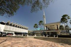 Nationale Moschee von Malaysia a K ein Masjid Negara Stockbild