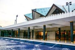 Nationale Moschee von Malaysia in Kuala Lumpur Lizenzfreie Stockfotografie