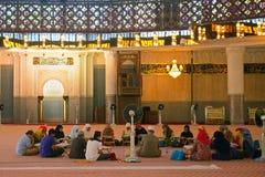 Nationale moskee, Kuala Lumpur, Maleisië Royalty-vrije Stock Afbeelding