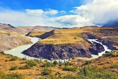 Nationale Park Torres del Paine Royalty-vrije Stock Afbeeldingen