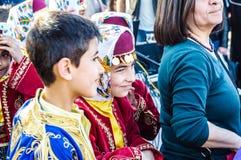 Nationale Soevereiniteit en van de Kinderen` s Dag Viering - Turkije Royalty-vrije Stock Afbeeldingen