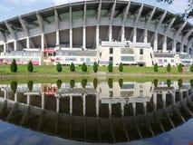 Nationale Spiegelansicht Arena-Filip 2 Mazedonien lizenzfreies stockfoto