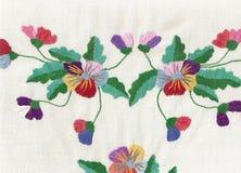 Nationale stijl van borduurwerk. stock illustratie