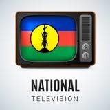 Nationale Televisie Royalty-vrije Stock Afbeelding