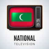 Nationale Televisie Stock Afbeelding