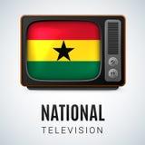 Nationale Televisie Royalty-vrije Stock Afbeeldingen