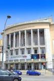 Nationale Theater Thessaloniki het Noord- van Griekenland Stock Fotografie