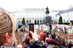Nationale Tragödie 2010 Lizenzfreie Stockfotografie