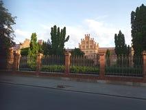 Nationale universiteit Ochtend royalty-vrije stock afbeeldingen