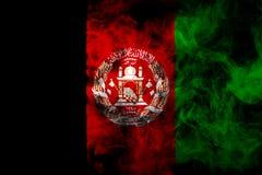 Nationale vlag van Afghanistan stock foto's