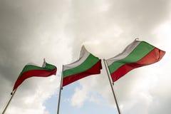 Nationale vlag van Bulgarije royalty-vrije stock foto's