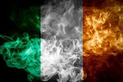Nationale vlag van Ierland stock afbeeldingen