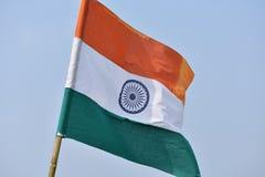 Nationale vlag van India royalty-vrije stock foto's