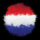 Nationale Vlag van Luxemburg Royalty-vrije Stock Afbeelding