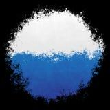 Nationale vlag van San Marino Royalty-vrije Stock Foto