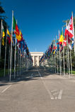 Nationale vlaggen royalty-vrije stock fotografie