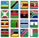 Nationale vlaggen Royalty-vrije Stock Afbeelding