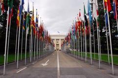Nationale vlaggen Stock Afbeeldingen