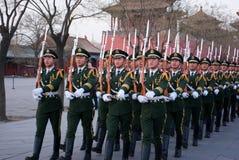 Nationale vlagwachten Royalty-vrije Stock Afbeeldingen