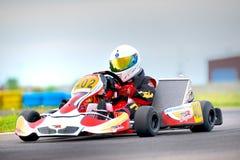 Nationale wedstrijd van het karting die door Amckart wordt georganiseerd Royalty-vrije Stock Foto's