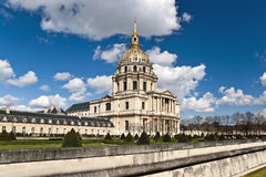 Nationale Woonplaats van Invalids (Les Invalides) Royalty-vrije Stock Fotografie