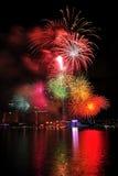 nationalen för 2011 dagskärmfyrverkerier ståtar Royaltyfria Foton