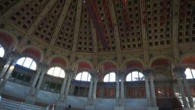 Nationaler Art Museum von Catalunya-Haube stock footage