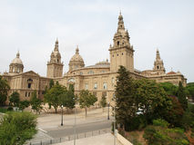 Nationaler Art Museum von Katalonien Lizenzfreies Stockfoto