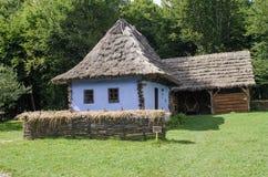Nationaler Astra Museum in Sibiu - altes Haus Stockbilder