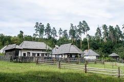 Nationaler Astra Museum in Sibiu - altes Hausdorf Stockfotografie
