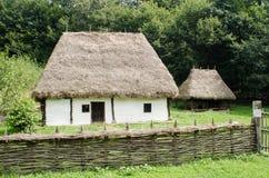 Nationaler Astra Museum in Sibiu - altes traditionelles h Stockfotografie