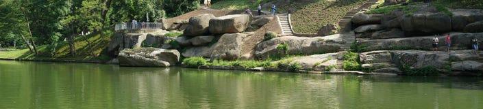Nationaler dendrological Park Sofiyivka Lizenzfreies Stockbild