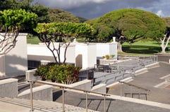Nationaler Erinnerungskirchhof des Pazifiks stockfoto