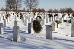 Nationaler Erinnerungsmilitärfriedhof Lizenzfreie Stockfotos