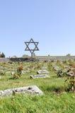Nationaler Friedhof in Terezin Stockbild