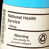 Nationaler Gesundheitsdienst NHS Stockbilder