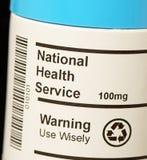 Nationaler Gesundheitsdienst NHS Lizenzfreies Stockfoto