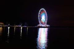 Nationaler Hafen Ferris Wheel Lizenzfreies Stockfoto