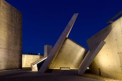 Nationaler Holocaust-Monument-Innenraum Stockbild