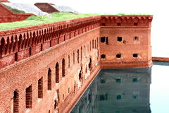 Nationaler Nationalpark - Fort Jefferson Stockbilder