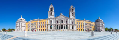 Nationaler Palast, Kloster und Basilika Mafra in Portugal Stockfotografie