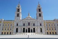 Nationaler Palast Mafra, Mafra, Portugal stockfotografie